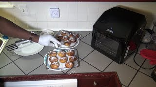 Air Fried Oreos in Sweet Hawaiian Dough, Power Air Fryer Oven Elite