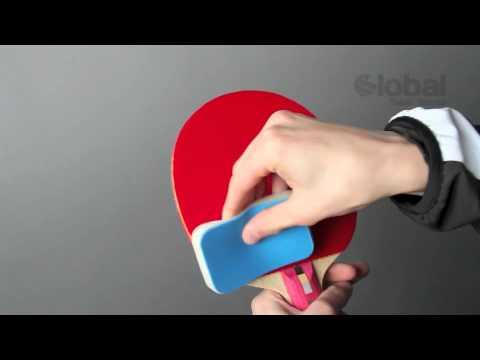 How to clean a table tennis bat