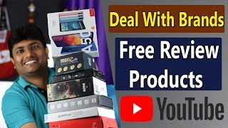 How To Deal With Brands On Youtube | Sponsorship And Free Review Products Explained