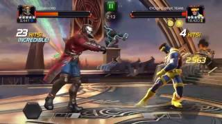 Marvel contest of champions aq map 6 fights and boss fights