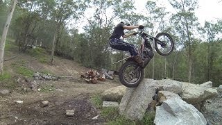 HOW TO DOUBLE BLIP & ZAP A TRIALS BIKE: mid-level trials training