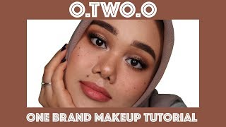 NYOBAIN 50++ PRODUK O.TWO.O  | ONE BRAND MAKEUP TUTORIAL