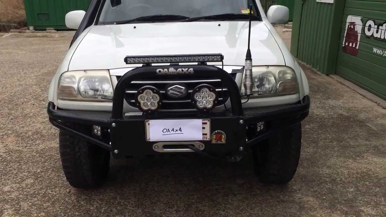 Suzuki Grand Vitara Off Road Bull Bar Xl7 Youtube