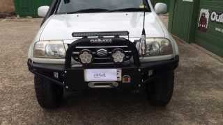 Suzuki Grand Vitara Off Road Bull Bar + XL7