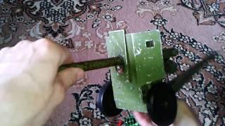 Відео: РАДЯНСЬКА ГАРМАТА - іграшка для дітей