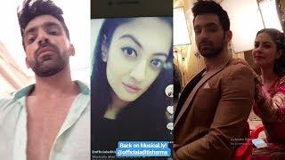 Kaleerein (कलीरें) star cast off screen full masti on set, Aditi Sharma, Arjit Taneja