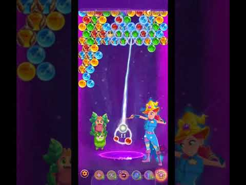 Bubble Witch 3 Saga level 1541 ~ One MAGIC HAT