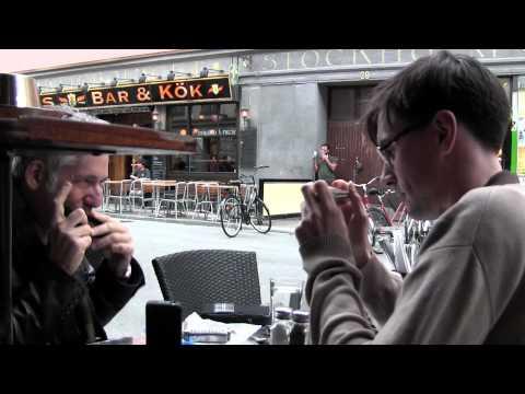 Randy Singer and Filip Jers Harmonica Jam in Stockholm