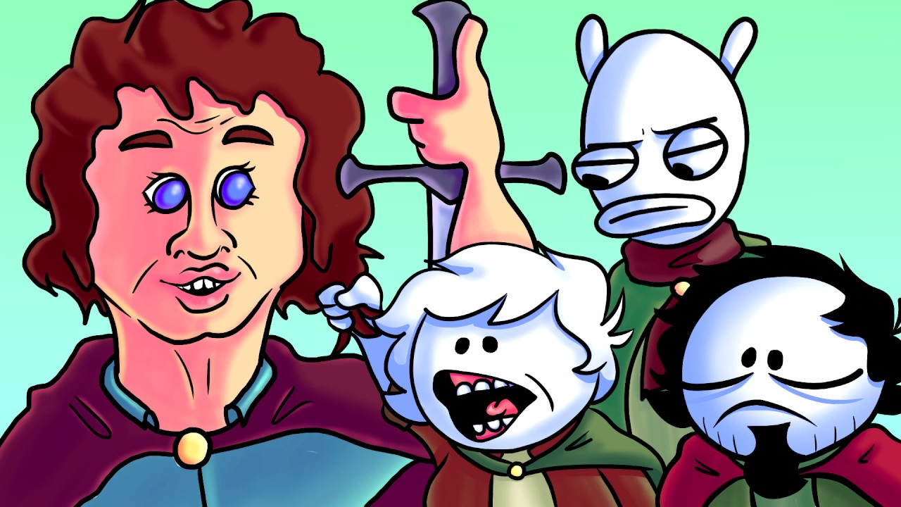 Oney Plays Lord Of The Rings Dos Game With Friends