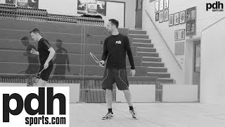 Our top five squash drills - FREE training tips from PDHSports.com