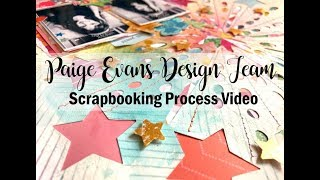 Scrapbooking Process #482 Paige Evans DT / Happy New Year