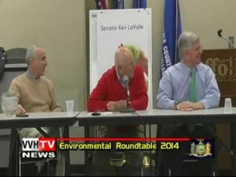 NYS Sen. Ken LaValle's Environmental Roundtable 2014 on VVH-TV News