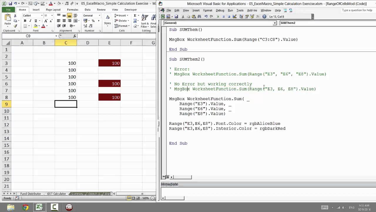 Excel VBA Range: How to Use Range in VBA