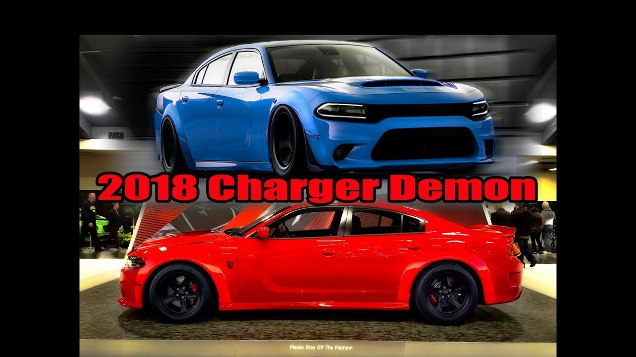 Im Ordering A 2018 Charger Demon Youtube