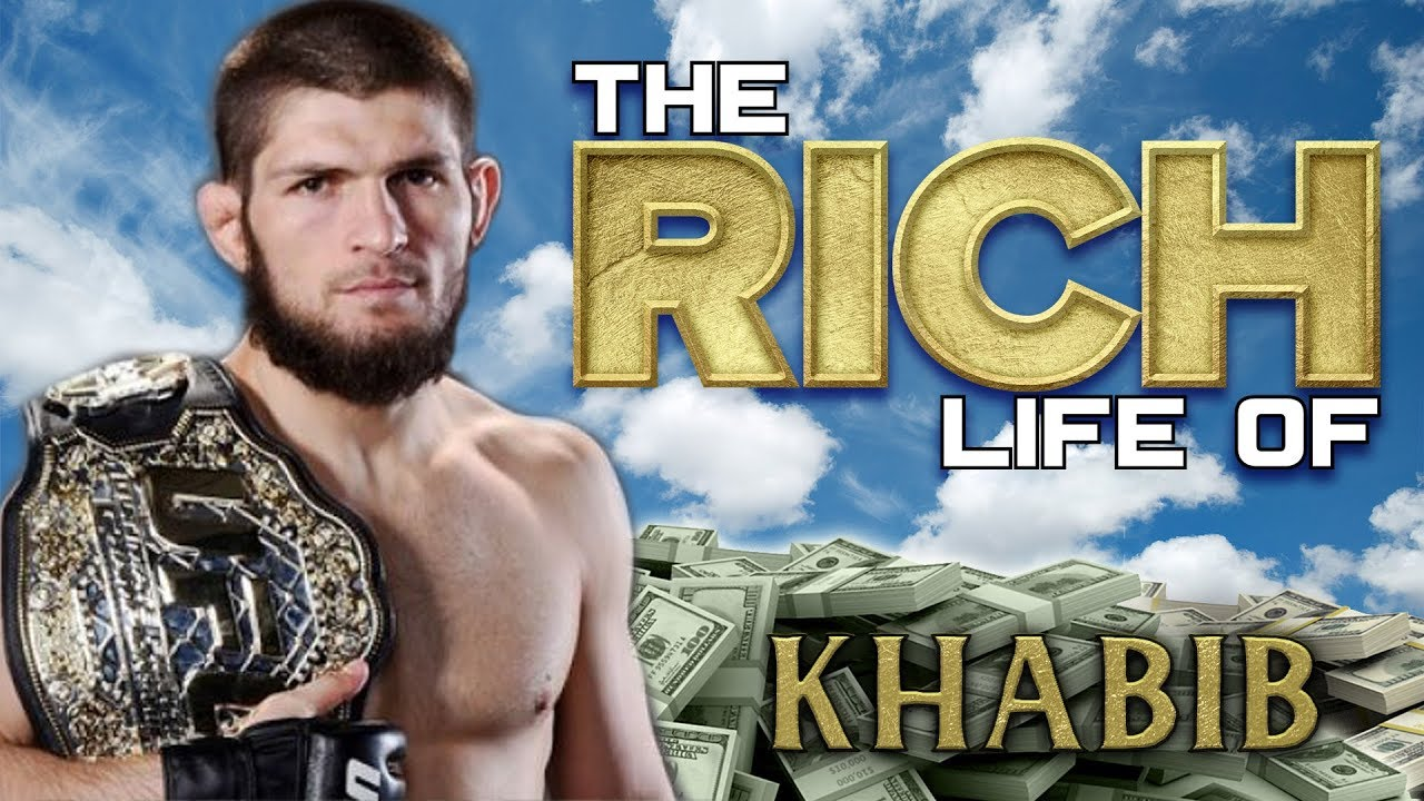Khabib Nurmagomedov The Rich Life Forbes Net Worth 2018 Cars Mansion Hat Youtube