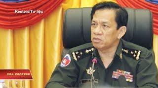 Campuchia xác nhận binh sĩ biểu tình ở Việt Nam