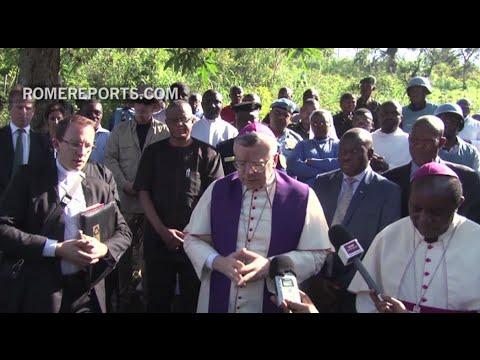 Papal nuncio visits North Kivu after massacre
