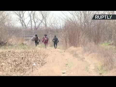 Turkey-Greece border as Syrian refugees en route to Europe