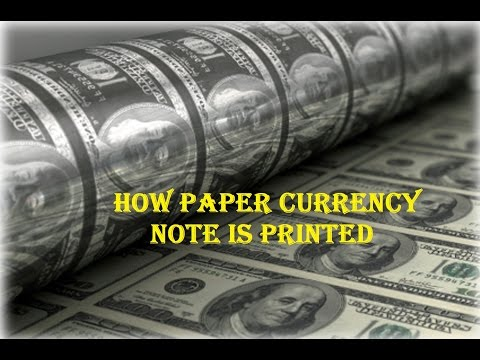 Paper Currency Printing machine [Rupee, Dollar, Euro, Peso, Pound etc..]