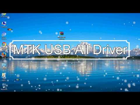 How To Manually Installed All MTK USB Driver (Latest Version)