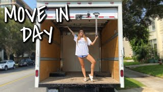 MOVE IN DAY! decorating my new apartment + unpacking | VLOG