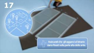 Repeat youtube video IKEA | Come montare le ante scorrevoli di un guardaroba PAX