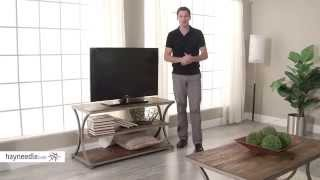 Belham Living Edison Reclaimed Wood Tv Stand - Product Review Video