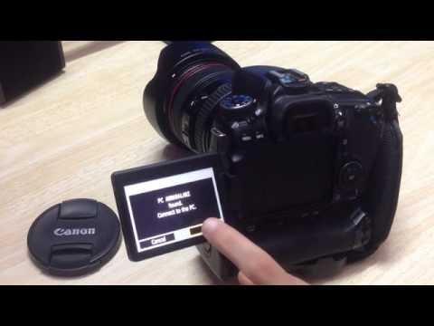 Connecting Canon EOS