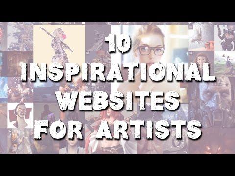 10 Inspirational Websites for Artists