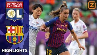 MARTENS vs VAN DE SANDEN in FINALE | Lyon vs FC Barcelona | CL Vrouwen 2018/19 | Samenvatting