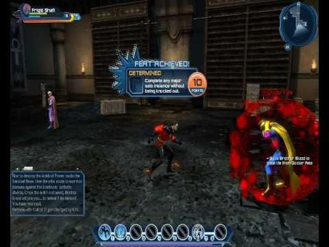 DCUO - first few instances (mentor: Circe; Dr. Fate battle and cutscene)