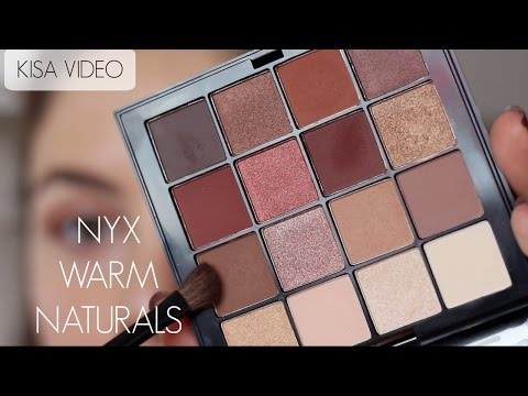 Baixar Mini Video | NYX Warm Neutrals Far Paleti ile Makyaj