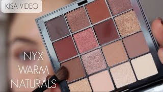 Mini Video | NYX Warm Neutrals Far Paleti ile Makyaj