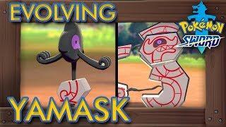 Pokémon Sword & Shİeld - How to Evolve Yamask into Runerigus