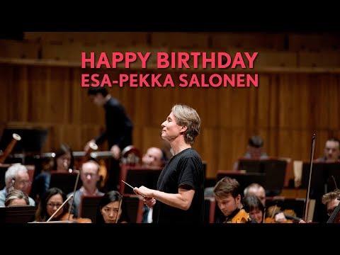 Happy Birthday, Esa-Pekka Salonen