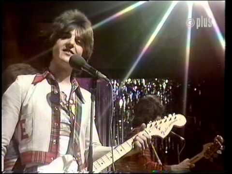 BAY CITY ROLLERS GIVE A LITTLE LOVE FROM SHANG A LANG TV SHOW
