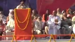 panth dokhi onkar singh thapad addressing the janta