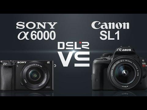 Sony a6000 vs Canon EOS Rebel SL1 (100D)