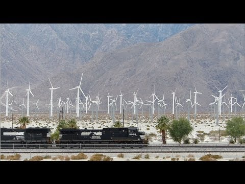 Palm Springs Wind Farm and Union Pacific Rail
