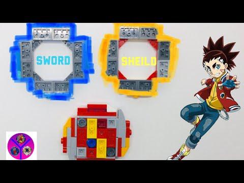 NEW DEFENSE BLADES & ATTACK BLADES | LEGO Infinite Achilles | BEYBLADE Burst Super King