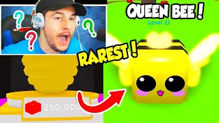 OMG I HATCHED THE NEW RAREST PET IN BUBBLE GUM SIMULATOR UPDATE!! (Roblox)