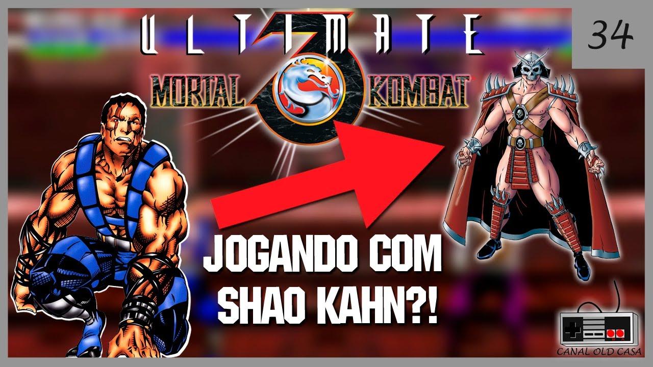 Ultimate Mortal Kombat Trilogy (Hack) Sega Genesis ROM