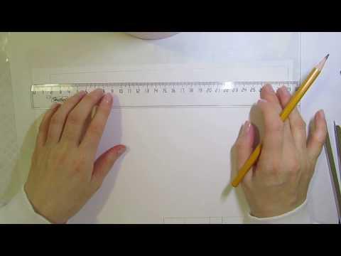 Как начертить рамку по черчению а4