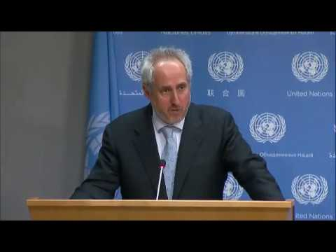 Delivery of aid to Syria & other topics (Daily Briefing May 3 2017)