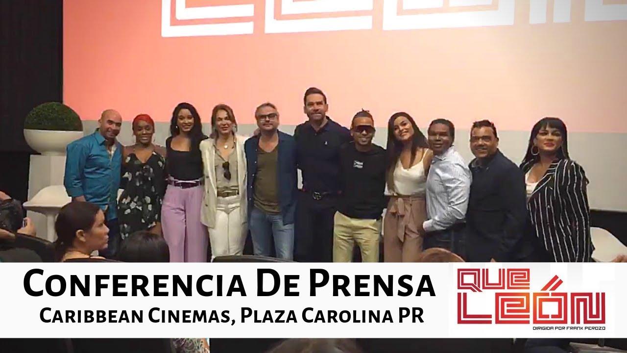Ver Conferencia de Prensa para la película Que León con Ozuna en Español