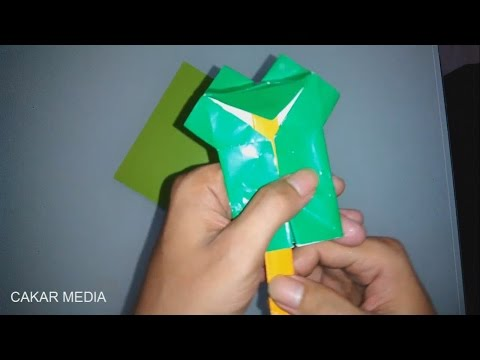 Cara Membuat Origami Kodok Mulut Bergoyang