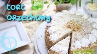 Tort orzechowy - Kotlet.TV