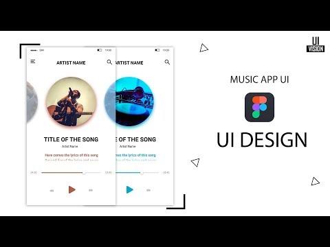 Music Player App UI Design