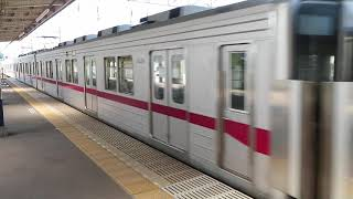東武東上線10030系急行 高坂駅到着 Tobu Tojo Line 10030 series EMU