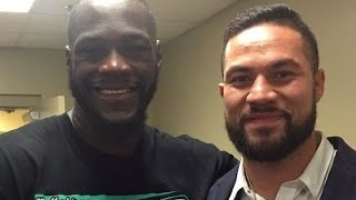 DEONTAY WILDER CALLS OUT JOSEPH PARKER FOR JULY UNIFICATION; RIPS FURYS FOR HISTORY OF BACKING OUT